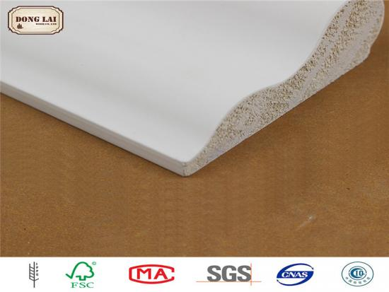 Gesso Coating Wood Ceilng Moldings